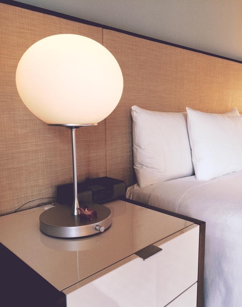 Stilrena och vackra lampor